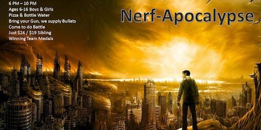 Kids Nerf-Apocalypse July 27, 2019 @ 6 pm