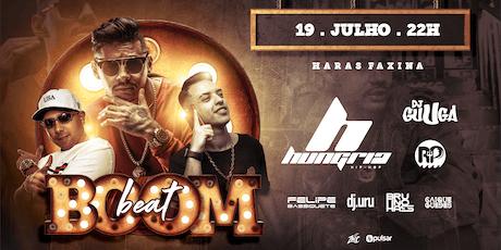 BoomBeat   Hungria e Dj Guuga ingressos