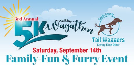 South County Tail Waggers 3rd Annual 5K Wagathon tickets