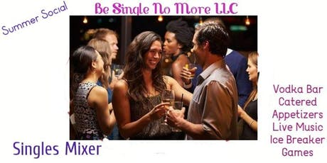 Singles Mixer with Vodka Bar, Appetizers and Live Music! tickets