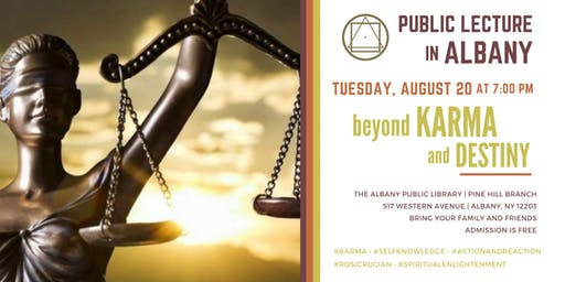 Public Lecture in Albany - Beyond Karma and Destiny
