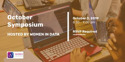 Women in Data's October Symposium