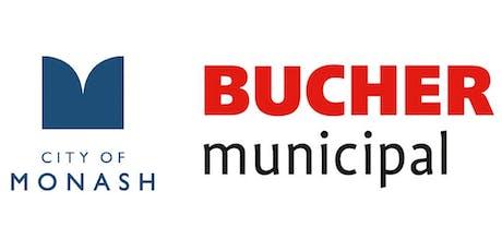 Monash Council Industry Insight Site Tour - Bucher Municipal tickets