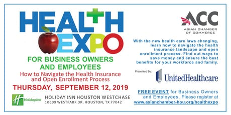 Health Expo For Business Owners and Employees - Asian Chamber of Commerce tickets