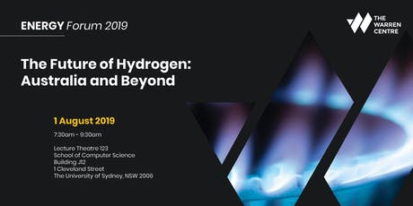 The Future of Hydrogen Energy: Australia and Beyond tickets