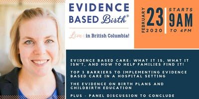 Evidence Based Birth® Live in British Columbia