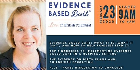 Evidence Based Birth® Live in British Columbia tickets