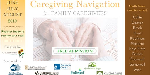 Parker County Community Event for People Caring for Senior Family Members