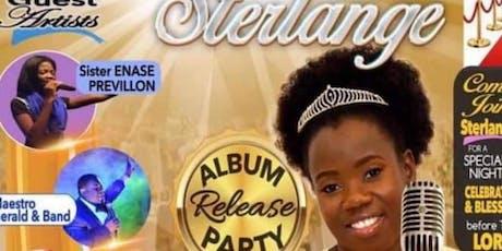 Sterlange Album release tickets