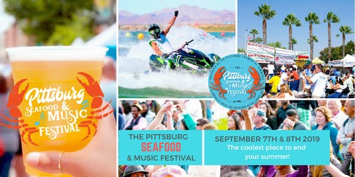 35th Annual Pittsburg Seafood & Music Festival Sept. 7th & 8th - 2019