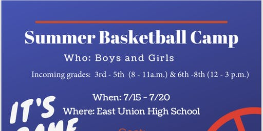East Union Basketball Fundamental Camp