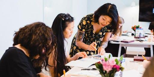 Intermediate Hand Lettering Workshop