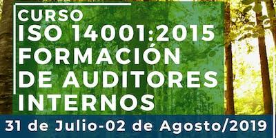 Curso ISO 14001:2015 Formación de Auditores Internos