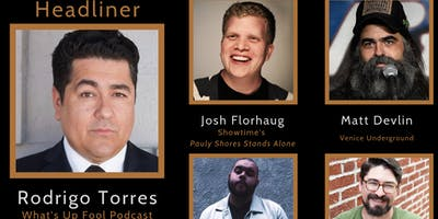 Lincoln House Comedy Club (Rodrigo Torres, Josh Florhaug, Matt Devlin)