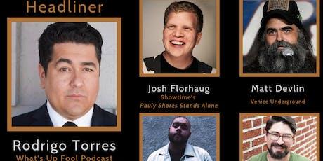 Lincoln House Comedy Club (Rodrigo Torres, Josh Florhaug, Matt Devlin) tickets