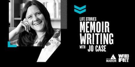 Life Stories: Memoir Writing Workshop at WordFest tickets
