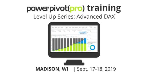 Level Up Series: Advanced DAX - Madison 2019