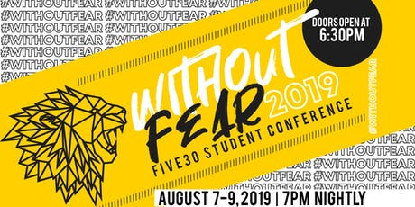 Without Fear Youth Conference tickets