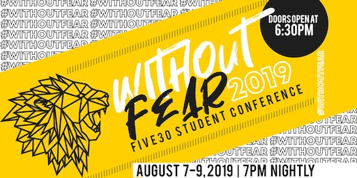 Without Fear Youth Conference