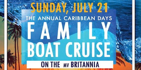 Caribbean Days Family Boat Cruise 2019 tickets
