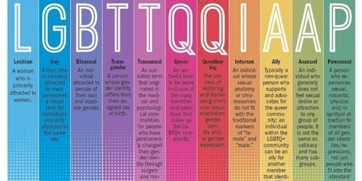 LGBTQ+/TRANSGENDER 101 TRAINING