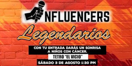 Pláticas de Genios / Influencers Legendarios tickets