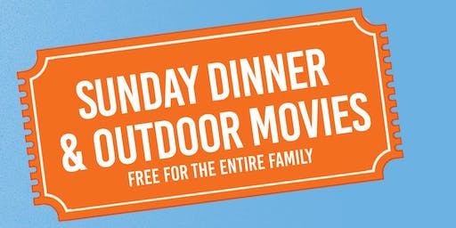 Porchfest DC presents...Sunday Dinner & Outdoor Movie Night