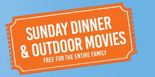 Porchfest DC presents...Sunday Dinner & Outdoor Movie Night
