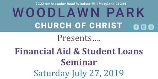 Financial Aid & Student Loans Seminar