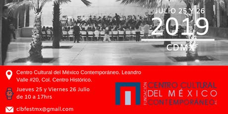 Computational Law + Blockchain Festival CDMX 2019  boletos