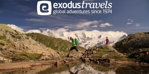 "Exodus Travels ""Walking & Cycling Holidays Around the World"" with guest speaker Helen Clark"