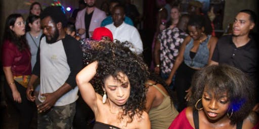AfroDancehall Saturday's every fourth Saturday inside the Copper spoon.