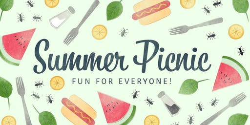 JULY 2019 - IIBA Chapter Summer Picnic (FRI - 7/19 @ 6:30 PM)