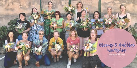 Blooms & Bubbles - Flower Arranging Workshop tickets