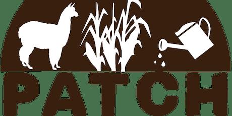 PATCH: Farming & Environment Workshop Term 3 2019 tickets