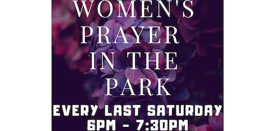 Women's Prayer In The Park