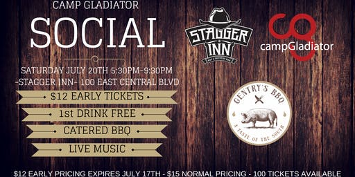 4th Annual CG Stagger Inn Social!