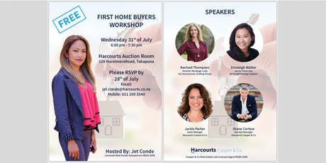 First Home Buyer Workshop tickets