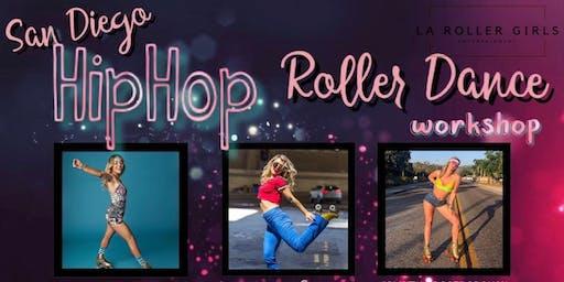 SAN DIEGO HIP HOP ROLLER DANCE WORKSHOP