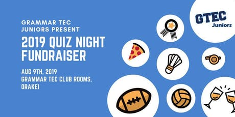GTEC Juniors Quiz Night 2019 tickets