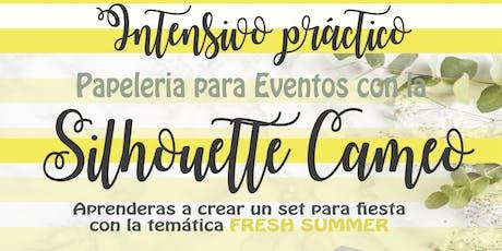 Papeleria Creativa para Eventos- Silhouette Cameo  tickets