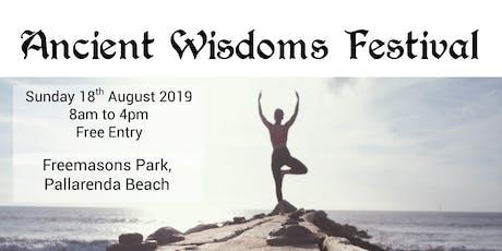 Ancient Wisdoms Festival tickets