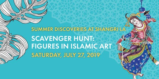 Scavenger Hunt: Figures in Islamic Art