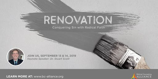 "RENOVATION: ""Conquering Sin with Radical Faith"""