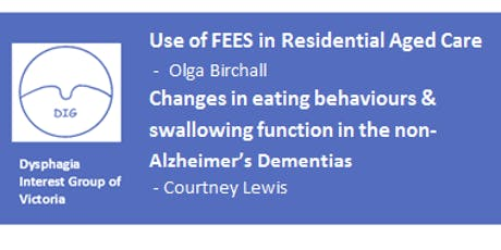 DIG – FEES in Residential Care and Feeding Behaviours in Dementia tickets
