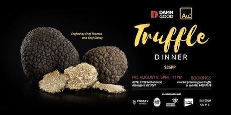 Au79 Damm Good Truffle Dinner tickets