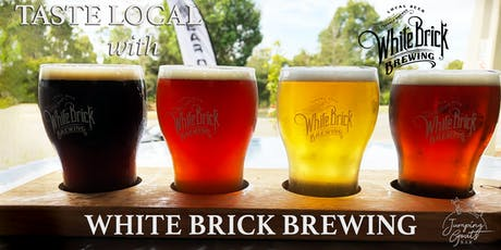 Taste Local with White Brick Brewing tickets