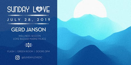 Sunday Love: Gerd Janson - Simon tickets