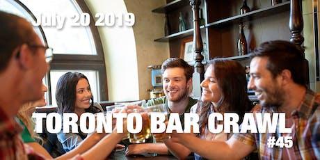 Toronto Bar Crawl #45 tickets