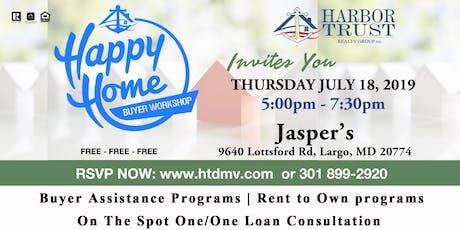 HAPPY HOME BUYER WORKSHOP tickets